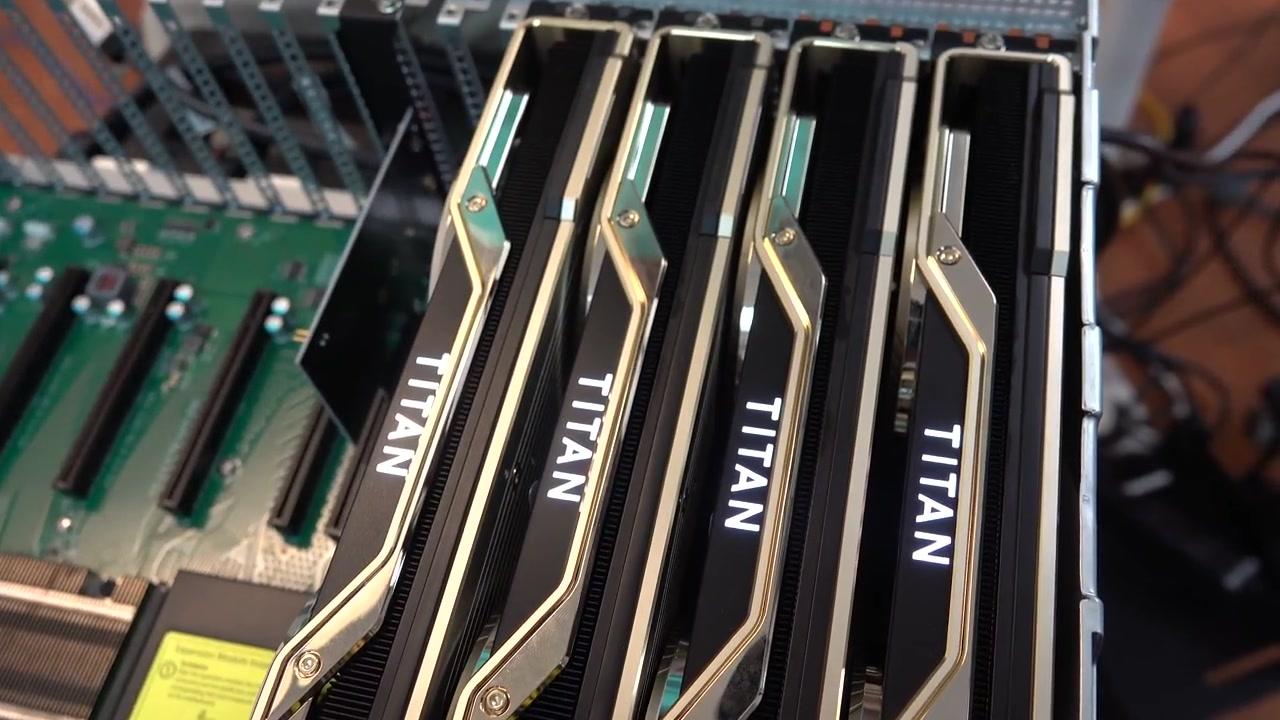 BIZON Z9000 – 8 TITAN RTX, 2080 Ti GPU deep learning server